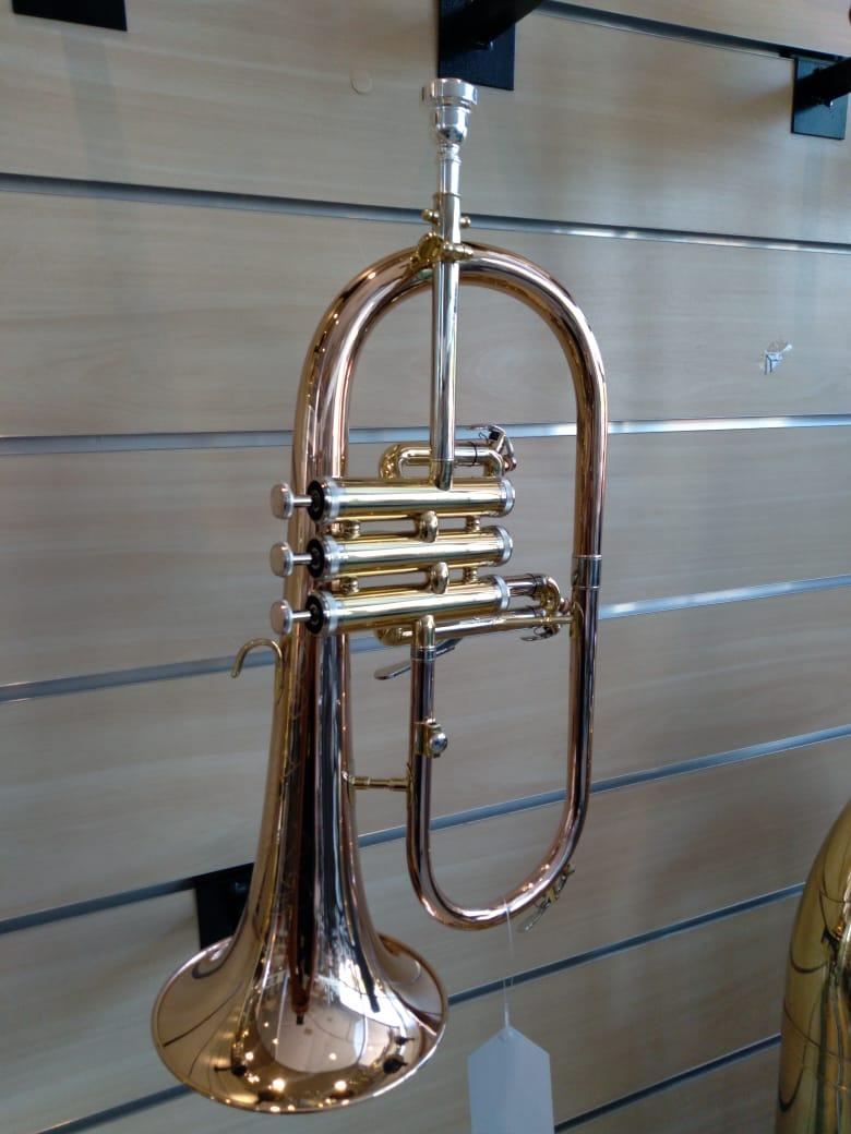 FLUGELHORN EAGLE FLG507  - Luggi Instrumentos Musicais