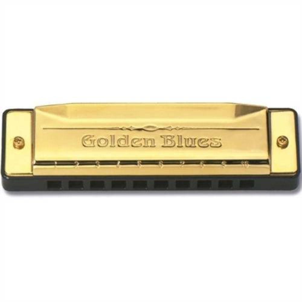 Gaita Hering Golden Blues 5020C  - Luggi Instrumentos Musicais