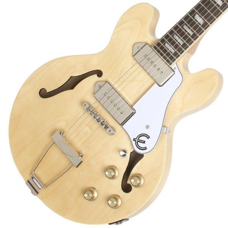 Guitarra Epiphone Casino Natural  - Luggi Instrumentos Musicais