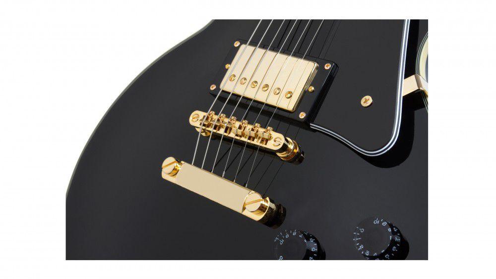 Guitarra Epiphone Les Paul Custom Pro Preta  - Luggi Instrumentos Musicais