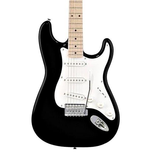Guitarra Fender Squier Affinity Strato Preta  - Luggi Instrumentos Musicais