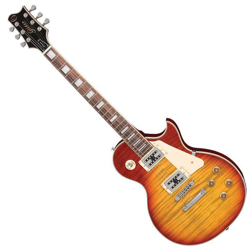 Guitarra Golden Gld155C Yb Les Paul Sunburst  - Luggi Instrumentos Musicais