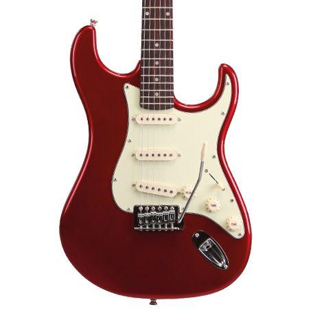 Guitarra Memphis Mg32 Vermelho Metálico Mr  - Luggi Instrumentos Musicais