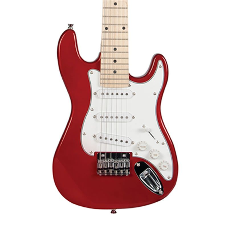 Guitarra Michael Gm219 Vermelha Infantil  - Luggi Instrumentos Musicais