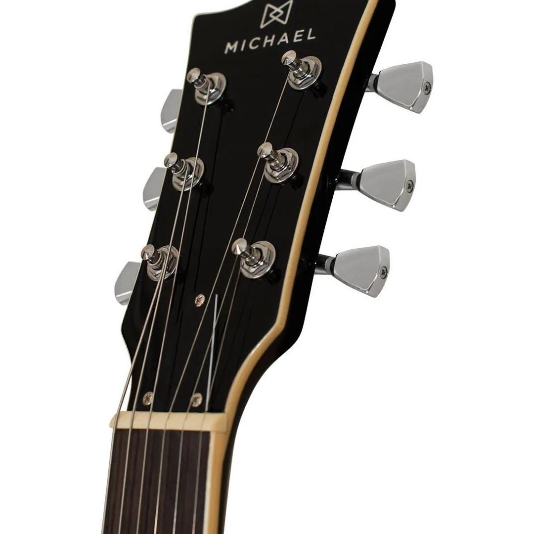 Guitarra Michael gm850 SG vinho  - Luggi Instrumentos Musicais