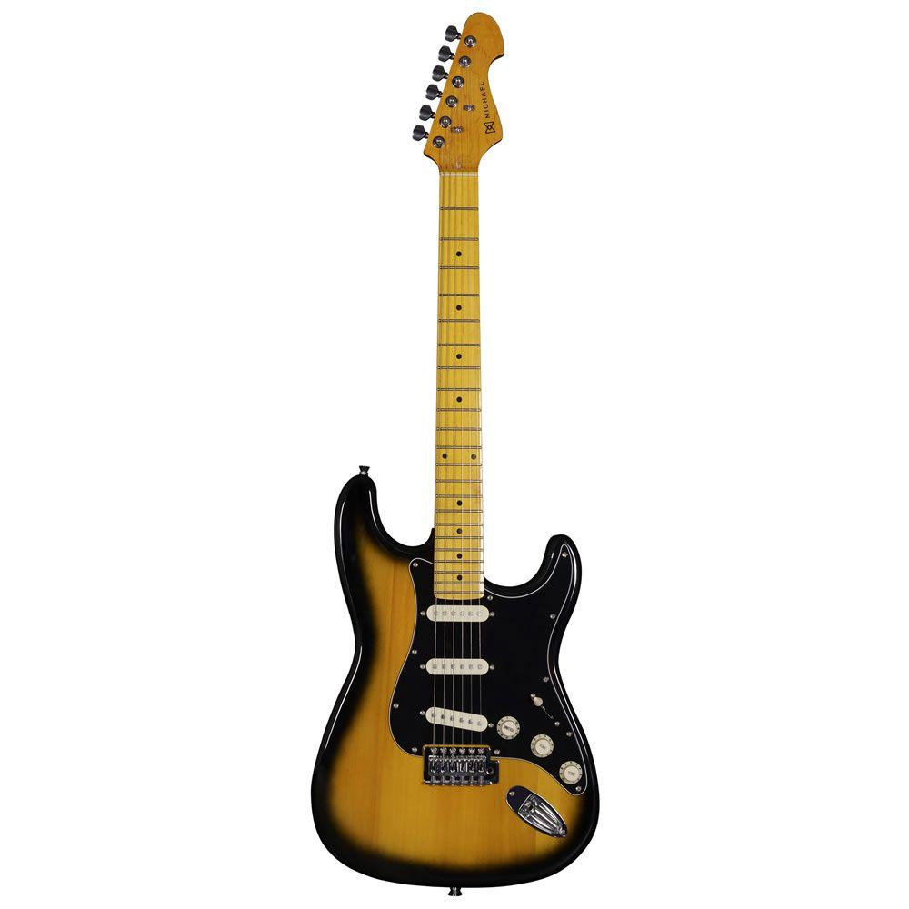 Guitarra Michael Stonehenge Gm222 Vintage Sunburst  - Luggi Instrumentos Musicais