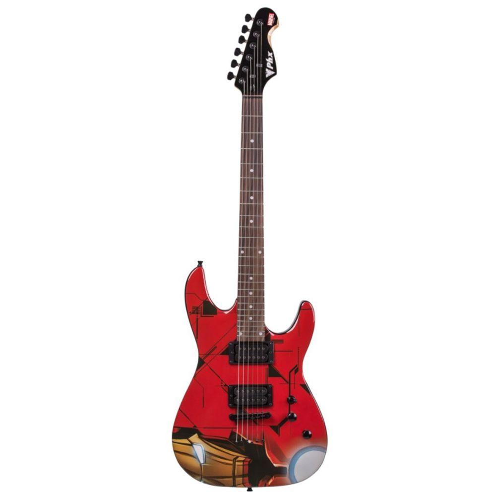 Guitarra Phx Iron Man Marvel Gmi-1
