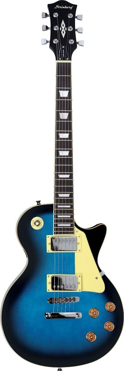 Guitarra Strinberg Lps230 Les Paul Azul  - Luggi Instrumentos Musicais