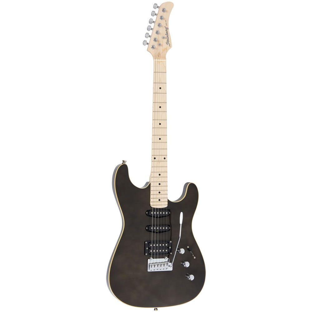 Guitarra Strinberg Sgs180 Preta  - Luggi Instrumentos Musicais
