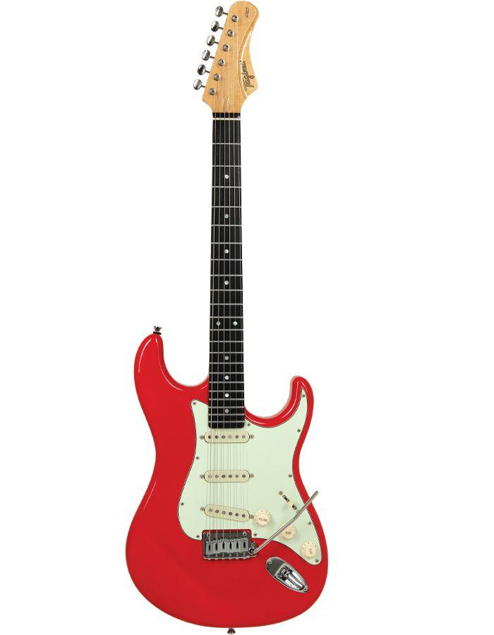 Guitarra Tagima Ea-Pro-2 Edu Ardanuy Vermelha C/Capa  - Luggi Instrumentos Musicais