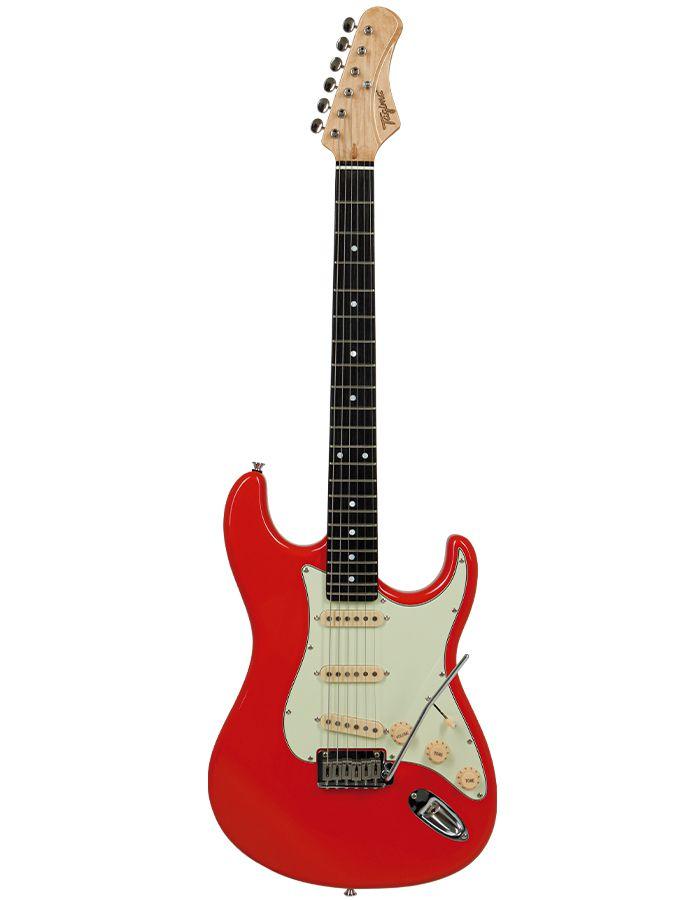 Guitarra Tagima Ea Pro 3 Edu Ardanuy Vermelha  - Luggi Instrumentos Musicais