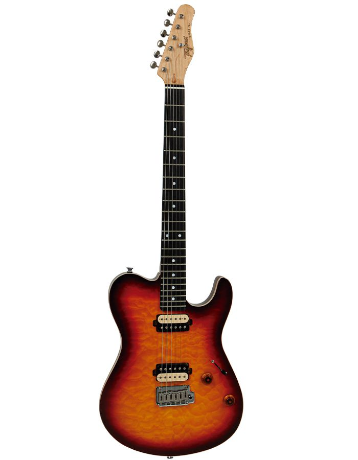 Guitarra Tagima Grace700 Cacau Santos Sunburst  - Luggi Instrumentos Musicais