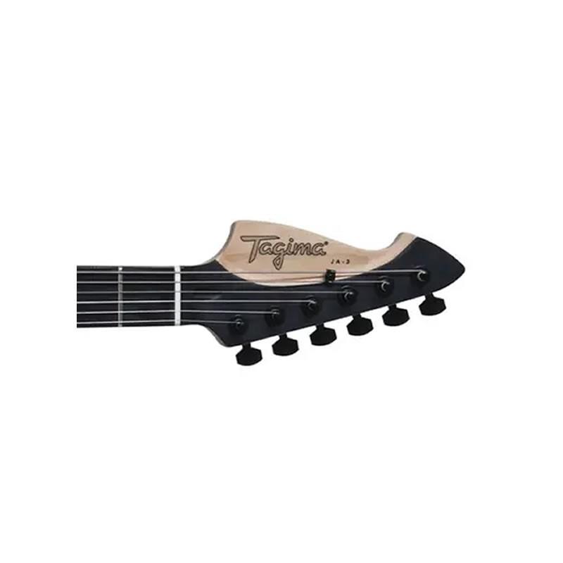 Guitarra Tagima J3 Signature Juninho Afram Preta  - Luggi Instrumentos Musicais