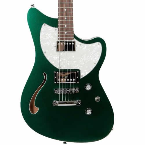 Guitarra Tagima Jet Blues Standard Verde Metálico  - Luggi Instrumentos Musicais