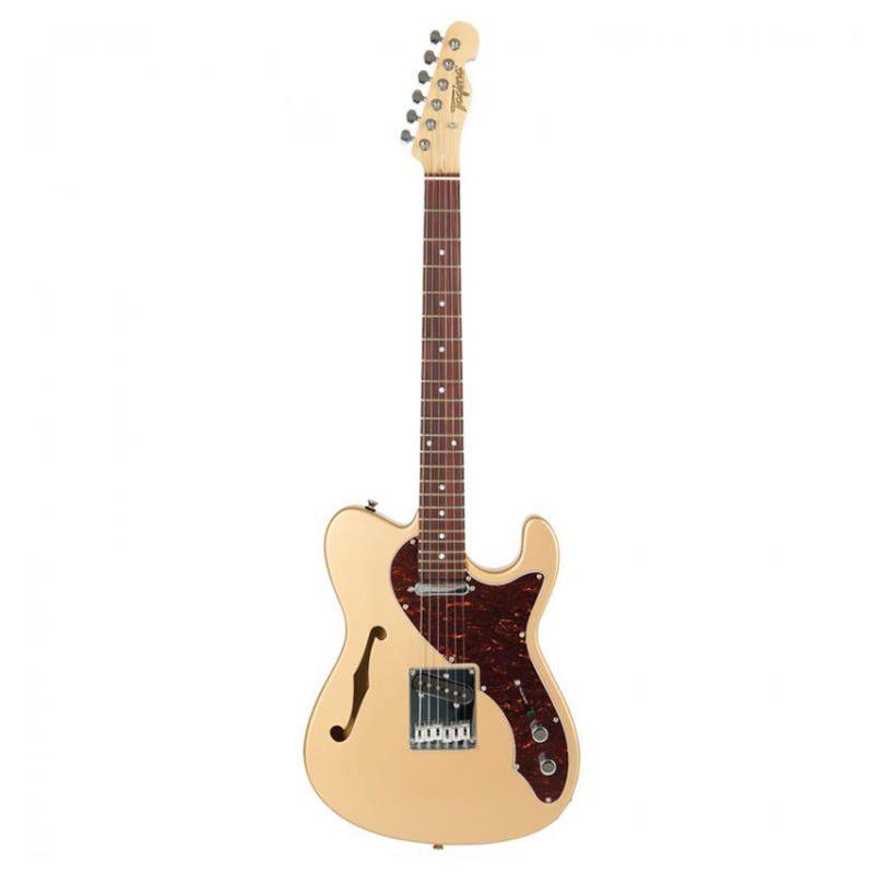 Guitarra Tagima T484 Tele Semi Acústica Gold  - Luggi Instrumentos Musicais