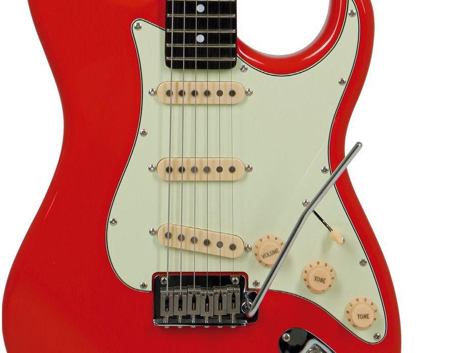 Guitarra Tagima T635 Classic Stratocaster Vermelha  - Luggi Instrumentos Musicais
