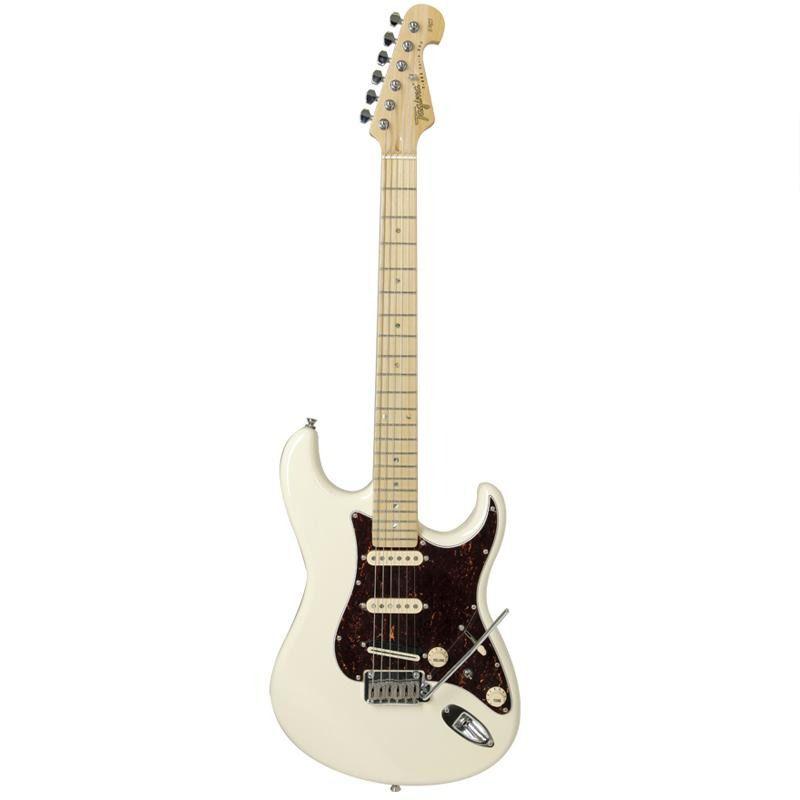 Guitarra Tagima T805 Strato Branco Vintage  - Luggi Instrumentos Musicais