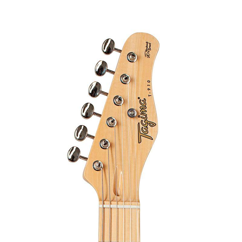 Guitarra Tagima T910 Preta Série Brasil  - Luggi Instrumentos Musicais