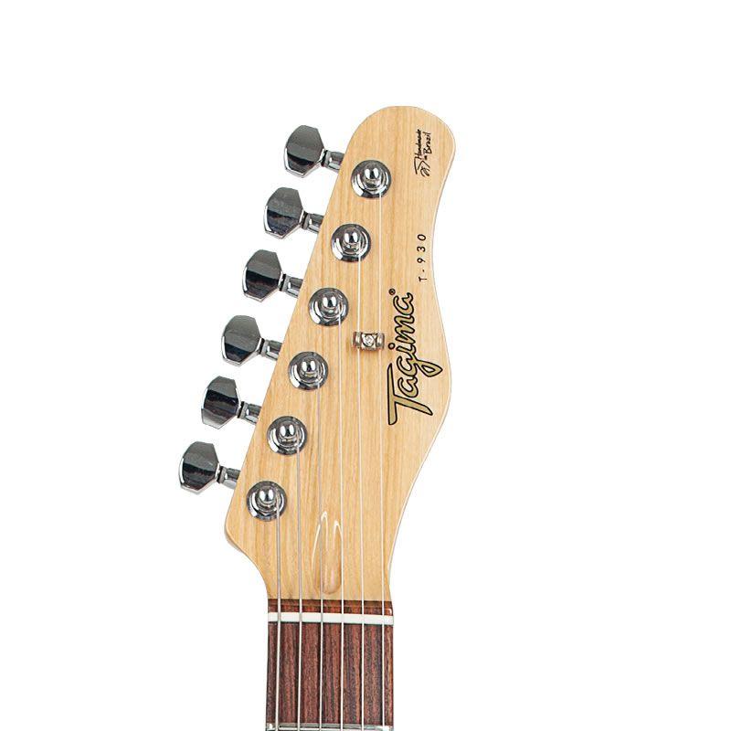 Guitarra Tagima T930 Laranja Metalico Serie Brasil  - Luggi Instrumentos Musicais