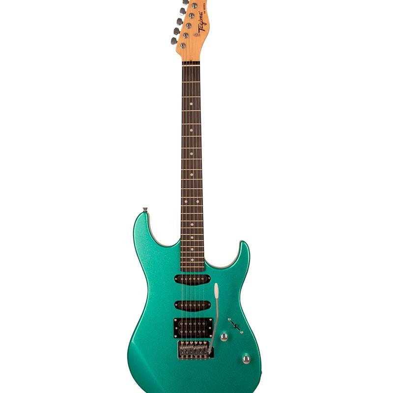 Guitarra Tagima Tg510 Woodstock Verde Metalico  - Luggi Instrumentos Musicais