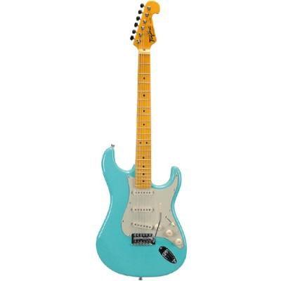 Guitarra Tagima Tg530 Woodstock Azul Celeste  - Luggi Instrumentos Musicais