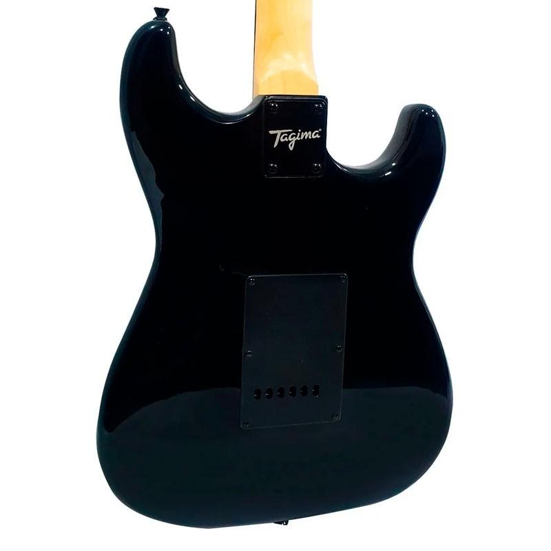 Guitarra Tagima TG-500 Woodstock Preto Canhoto  - Luggi Instrumentos Musicais