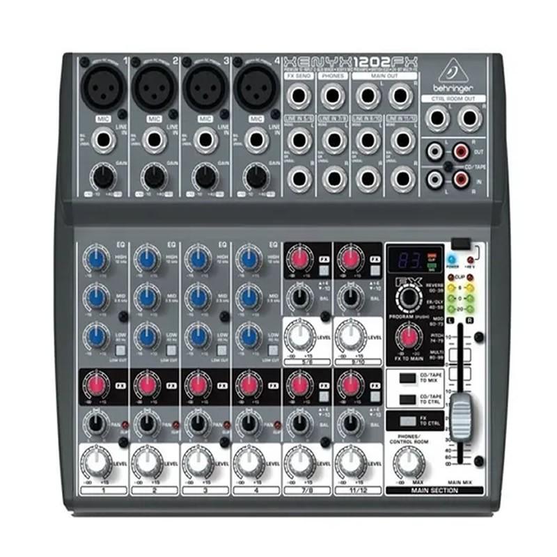 MESA 12 CANAIS BEHRINGER 1202FX XENYX  - Luggi Instrumentos Musicais