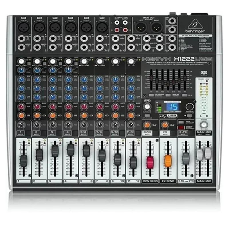 MESA 12 CANAIS BEHRINGER X1204USB XENYX EFEITO  - Luggi Instrumentos Musicais