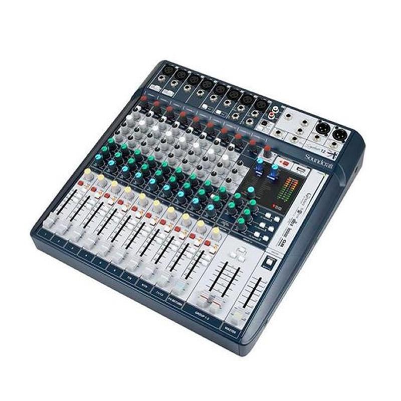MESA 12 CANAIS SOUNDCRAFT SIGNATURE 12MTK  - Luggi Instrumentos Musicais