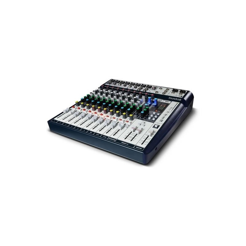 Mesa 12 Canais Soundcraft Signature Digital  - Luggi Instrumentos Musicais