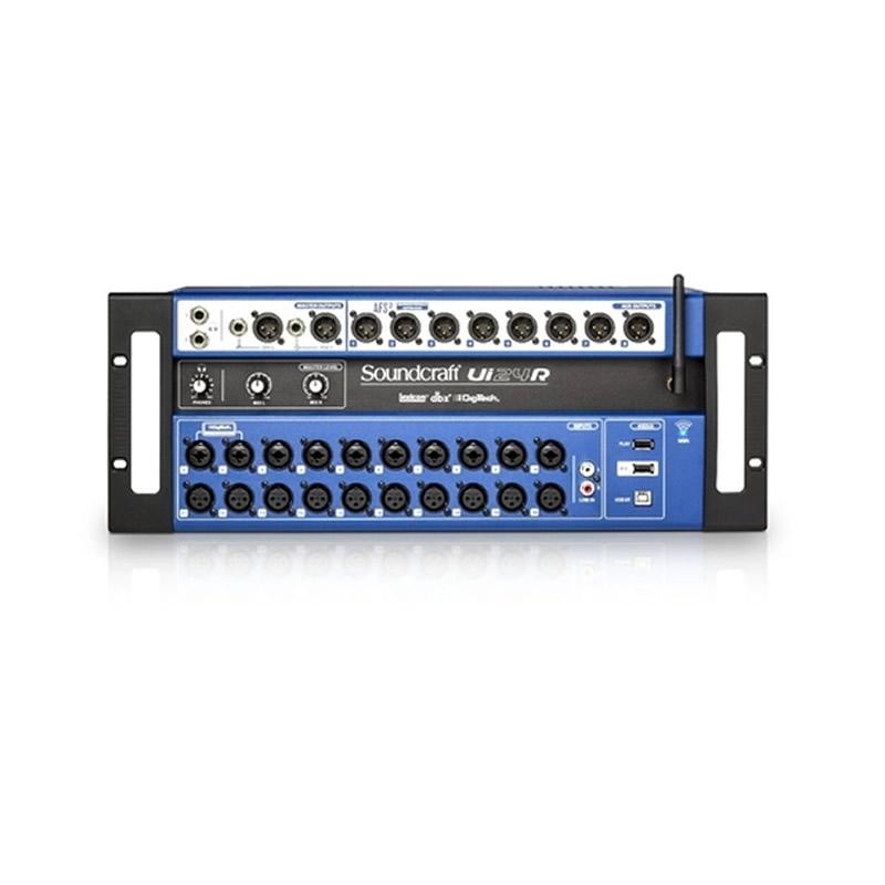 MESA 24 CANAIS SOUNDCRAFT UI24R  - Luggi Instrumentos Musicais