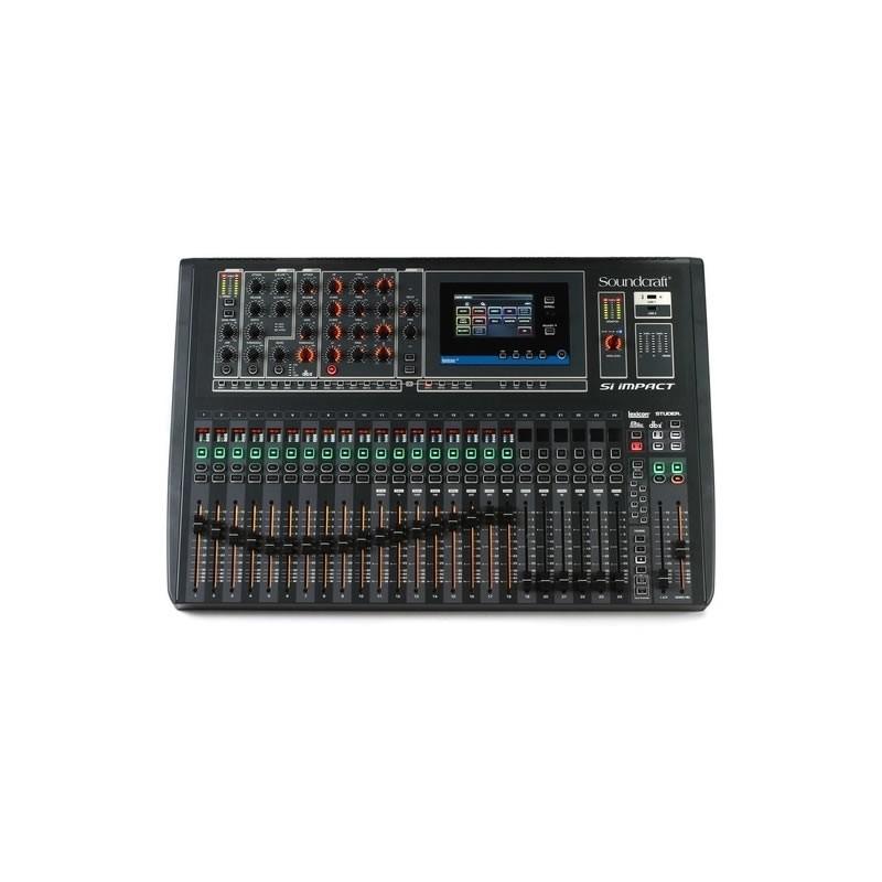 MESA 32 CANAIS SOUNDCRAFT Si IMPACT  - Luggi Instrumentos Musicais