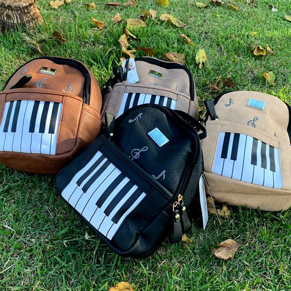 Mochila Costa Musical - Teclas   - Luggi Instrumentos Musicais