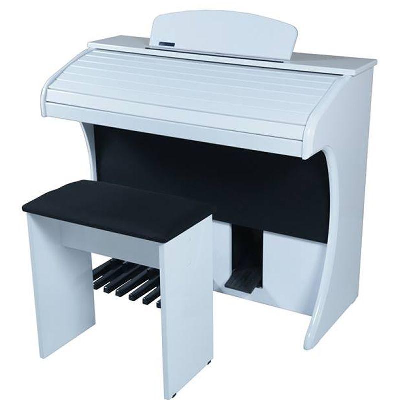 Órgão Acordes Série Gold Ax100 Branco - 49 Teclas  - Luggi Instrumentos Musicais