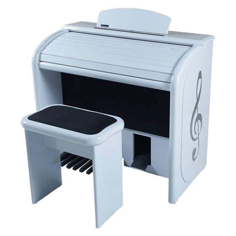 Órgão Eletrônico Digital Acordes - AX 100 Top Elegance Branco - 61 Teclas  - Luggi Instrumentos Musicais