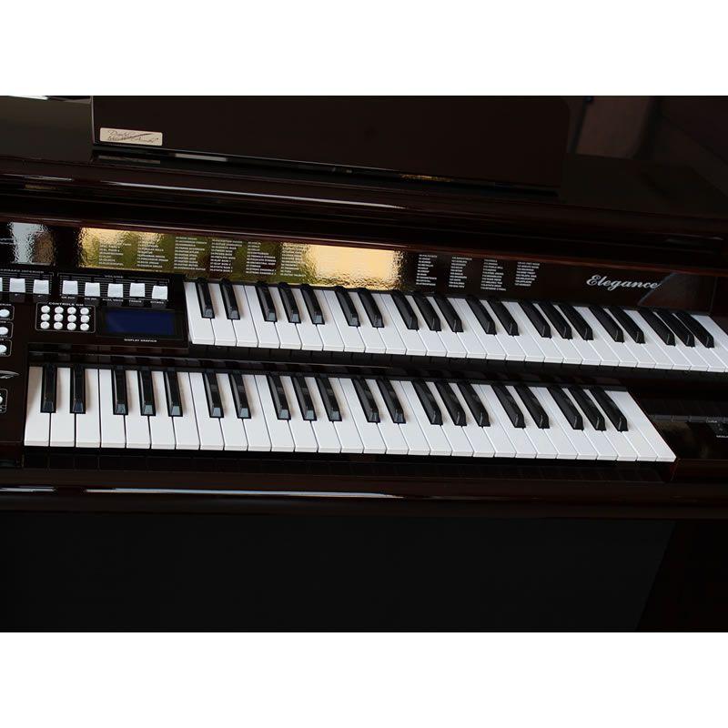 Órgão Digital Acordes AX100 Top Elegance Imbuia - 61 Teclas  - Luggi Instrumentos Musicais