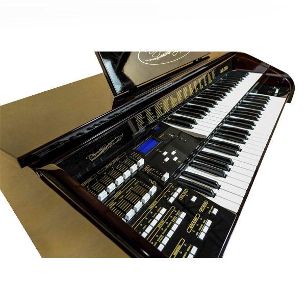 Órgão Acordes - AC300 Imbuia BRILHO - 49 Teclas  - Luggi Instrumentos Musicais