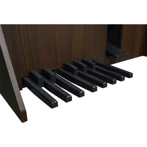 Órgão Eletrônico Digital Acordes - Classic Marrom Fosco  - Luggi Instrumentos Musicais