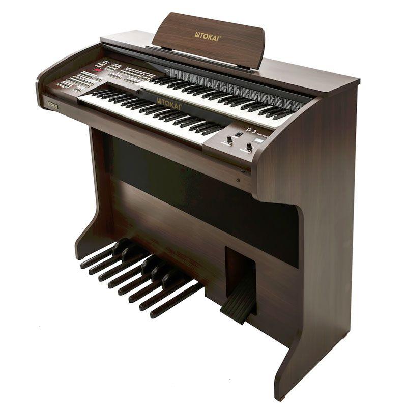 Órgão Eletrônico Tokai D2  - Luggi Instrumentos Musicais