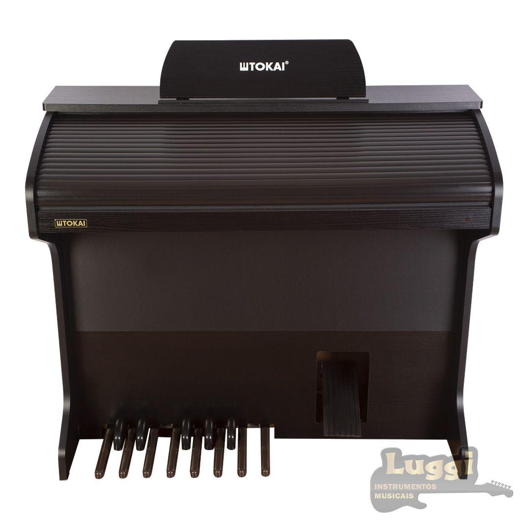 Órgão Tokai D2 Preto  - Luggi Instrumentos Musicais