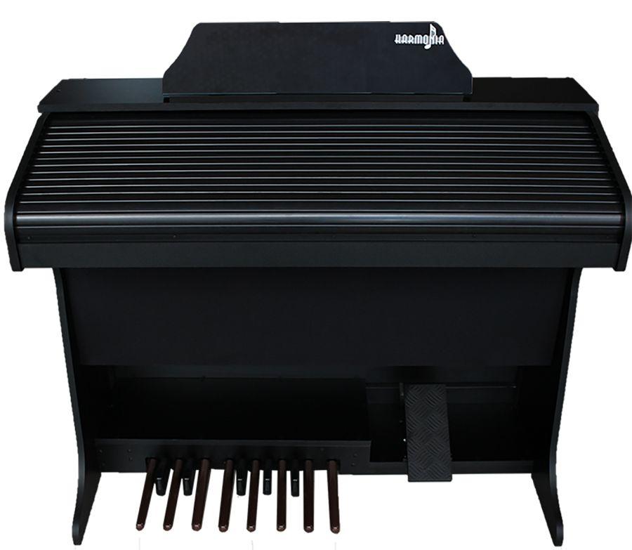 Órgão Harmonia HS-45 Lux Preto  - Luggi Instrumentos Musicais