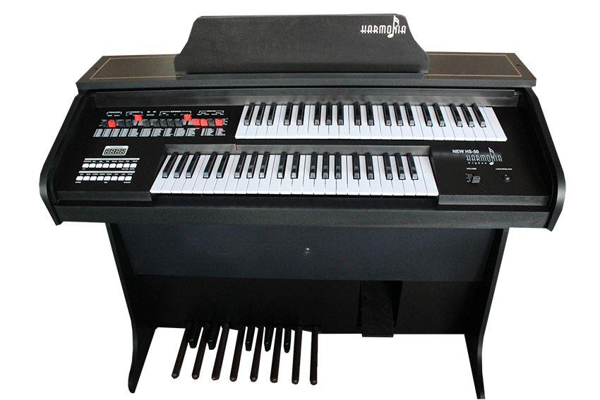 Órgão Harmonia HS-50 Preto Fosco  - Luggi Instrumentos Musicais