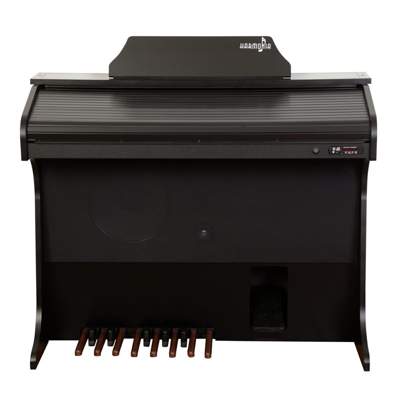 Órgão Harmonia HS-75 Preto Fosco  - Luggi Instrumentos Musicais