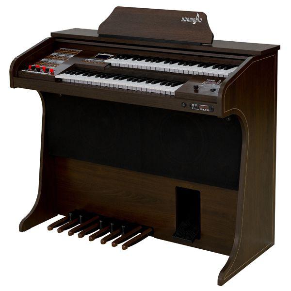 Órgão Harmonia HS-90D Preto Fosco  - Luggi Instrumentos Musicais