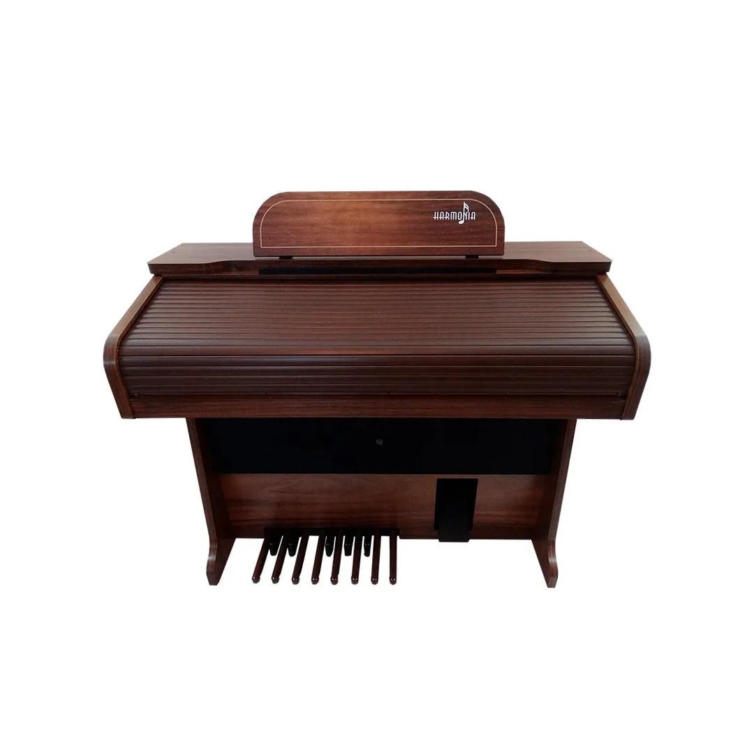 Órgao Harmonia HS-95 - IMBUIA VERNIZ (brilho)  - Luggi Instrumentos Musicais