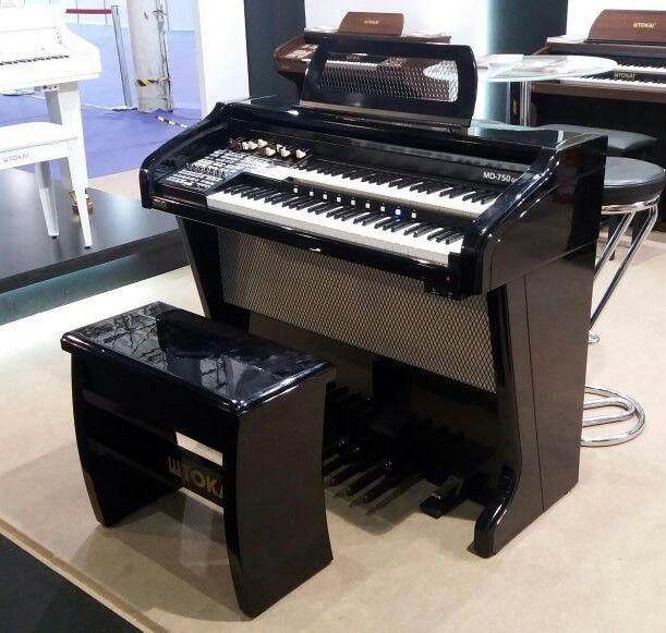 Órgão Tokai Md750 Gold Preto  - Luggi Instrumentos Musicais