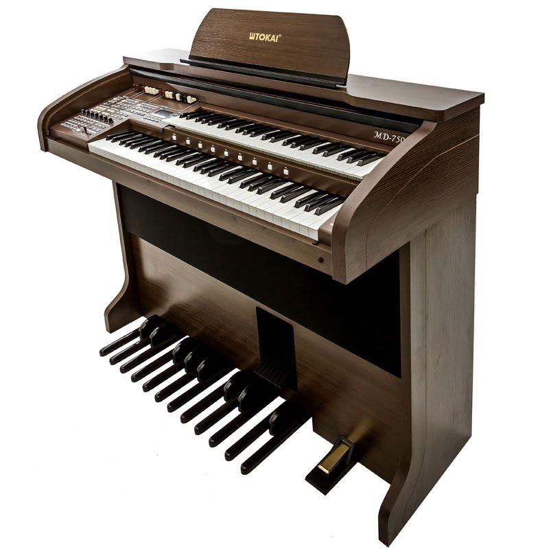Órgão Tokai Md750 Marrom  - Luggi Instrumentos Musicais