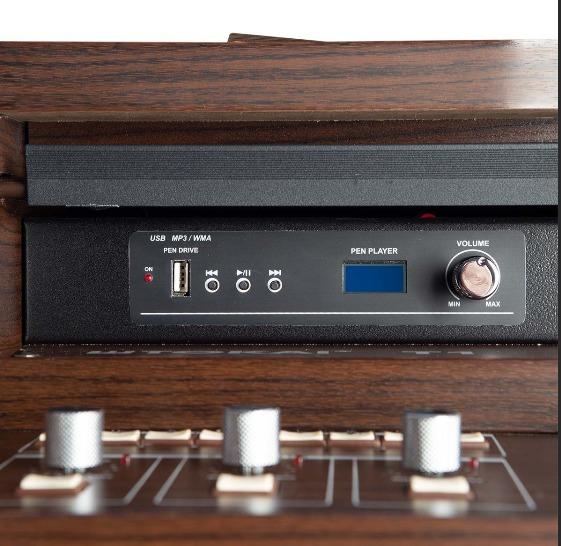 Órgão Tokai T1 Litúrgico Wengue (Marrom)  - Luggi Instrumentos Musicais