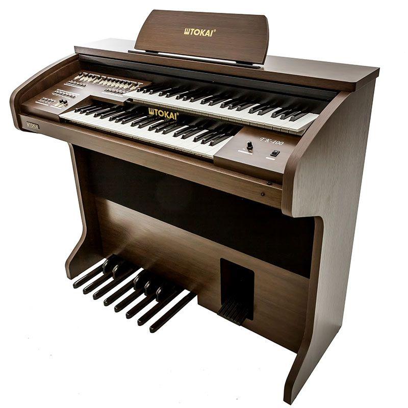 Órgão Tokai Tk100 Wengue Marrom  - Luggi Instrumentos Musicais