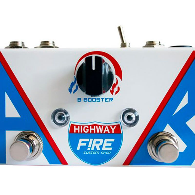 Pedal Fire Ab Box Highway Booster  - Luggi Instrumentos Musicais